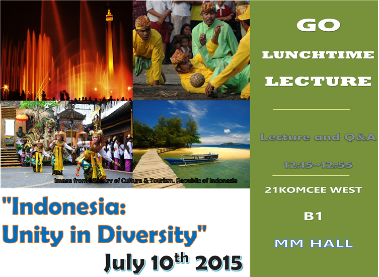 Indonesia Lunchtime Lecture