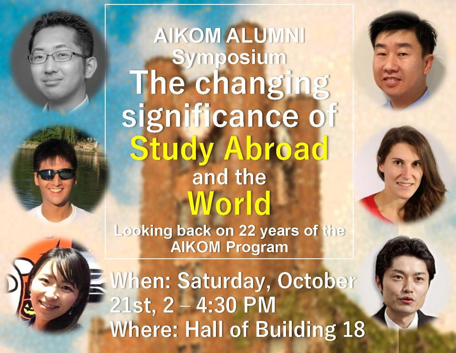 """AIKOM Alumni Symposium: """"The Changing Significance of ... - photo#43"""